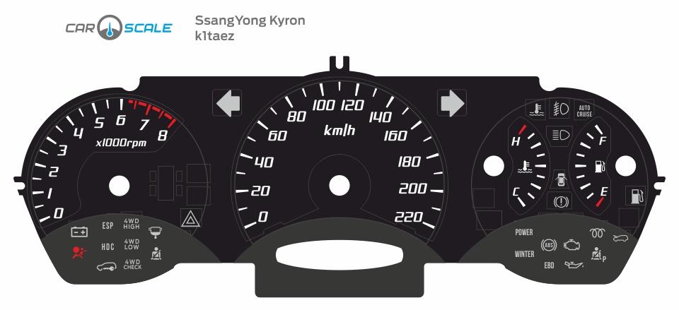SSANGYONG KYRON 01