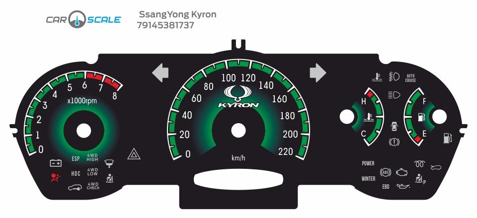 SSANGYONG KYRON 04