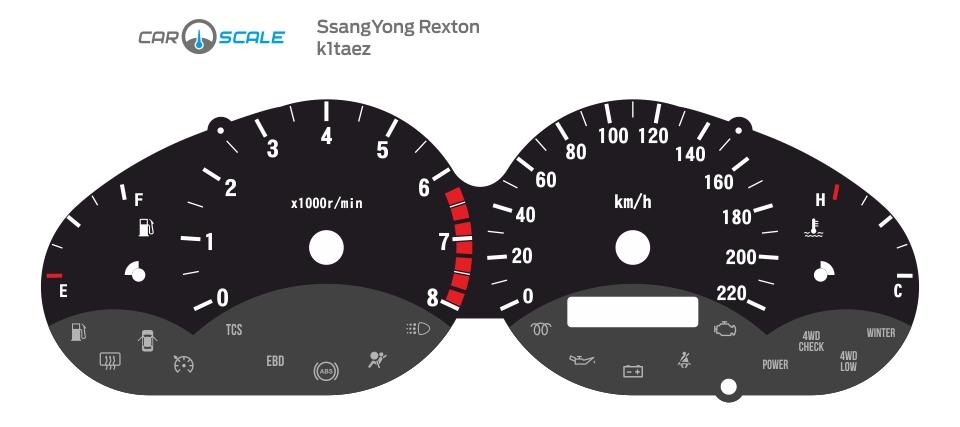 SSANGYONG REXTON 01