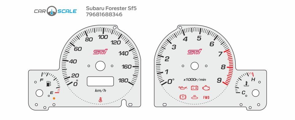 SUBARU FORESTER SF5 09