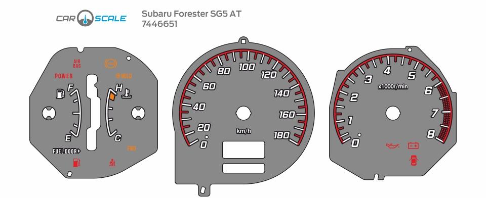 SUBARU FORESTER SG5 AT 10