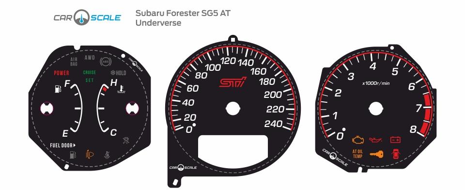 SUBARU FORESTER SG5 AT 02