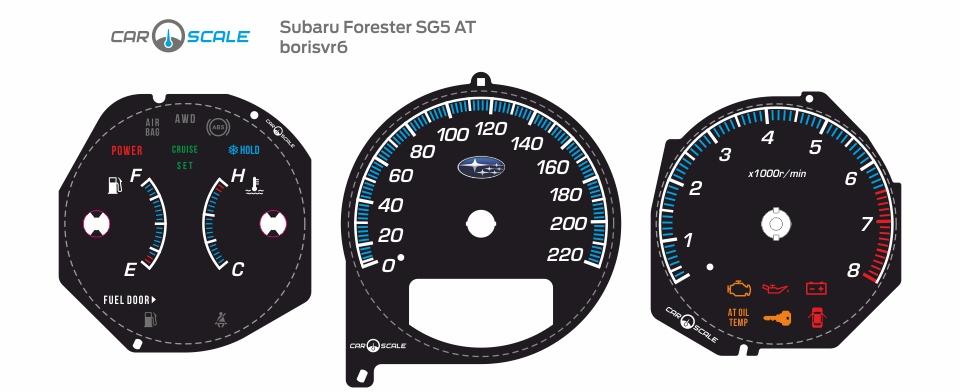 SUBARU FORESTER SG5 AT 03