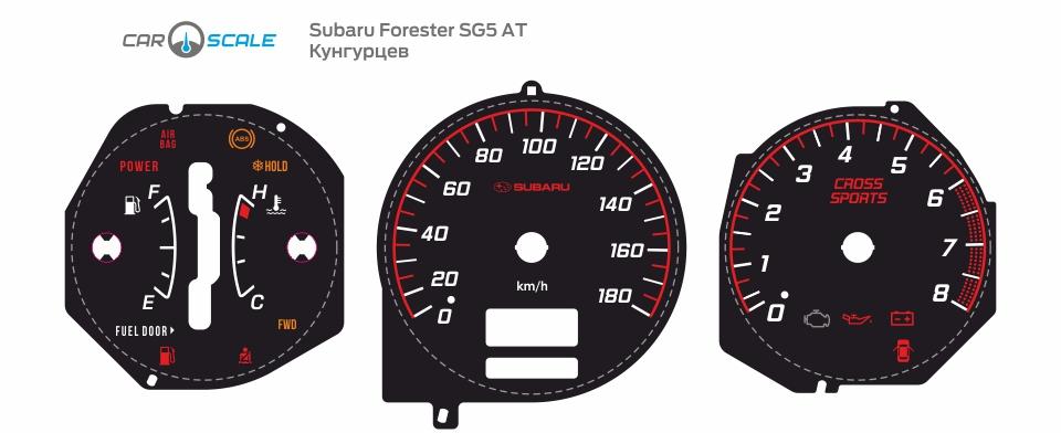 SUBARU FORESTER SG5 AT 04