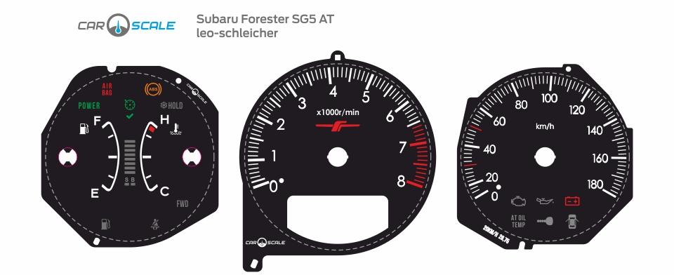 SUBARU FORESTER SG5 AT 05