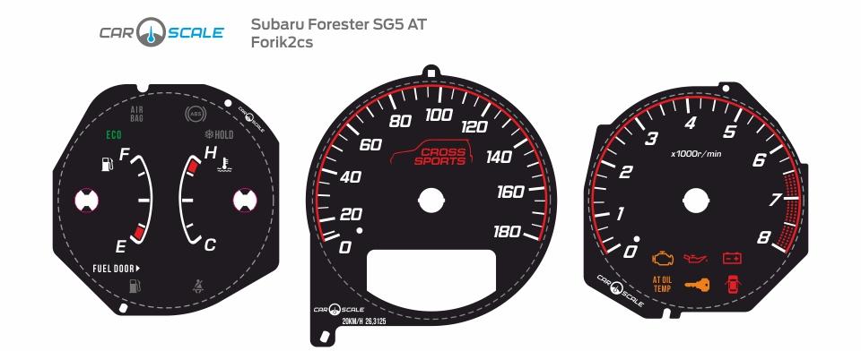 SUBARU FORESTER SG5 AT 06