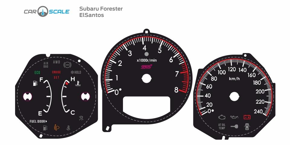 SUBARU FORESTER SG5 AT 07