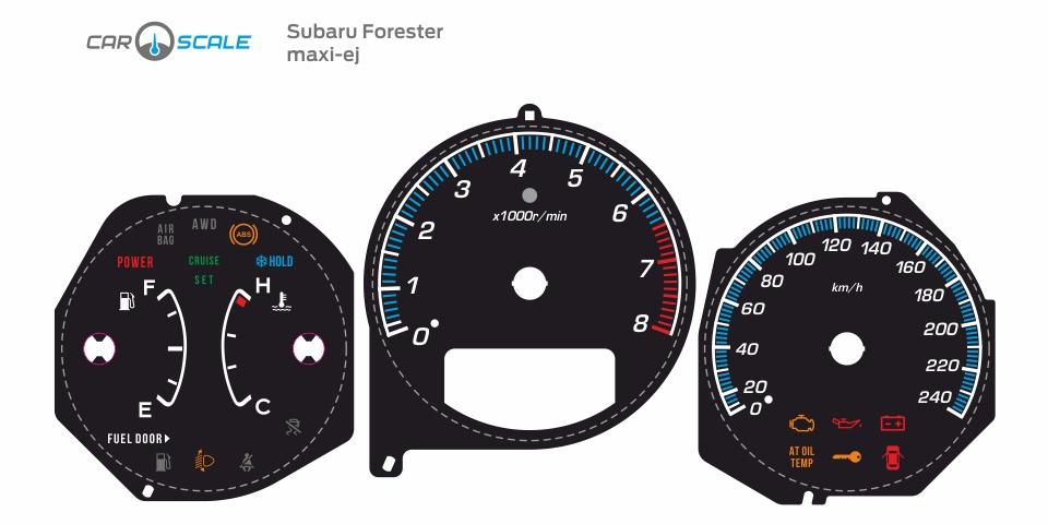 SUBARU FORESTER SG5 AT 08