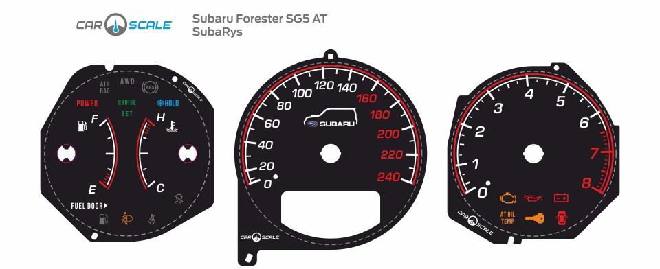 SUBARU FORESTER SG5 AT 09