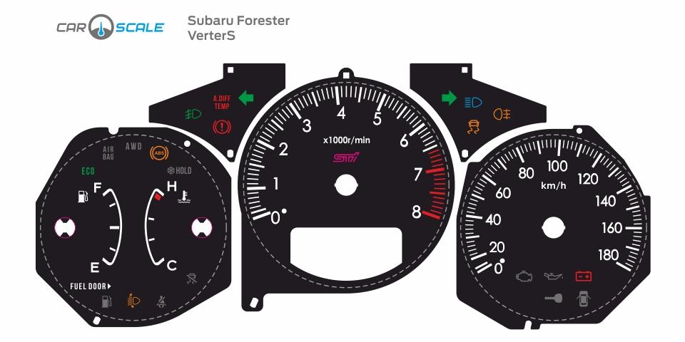 SUBARU FORESTER SG5 AT 11