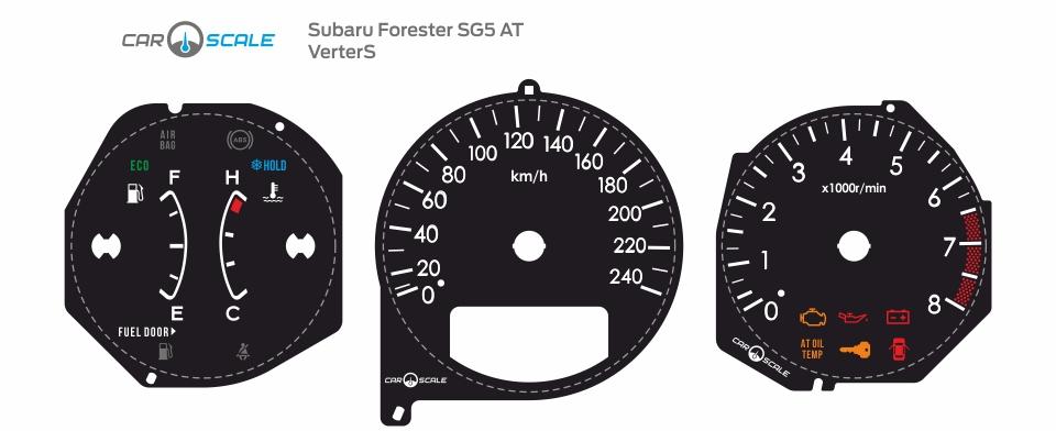 SUBARU FORESTER SG5 AT 12