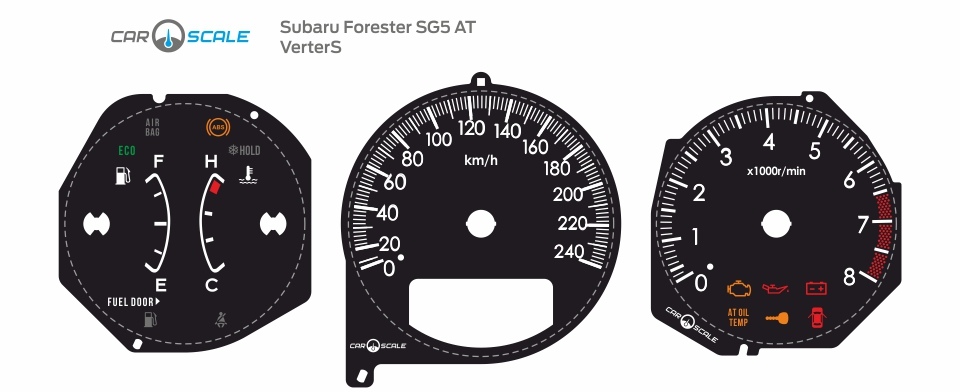 SUBARU FORESTER SG5 AT 13