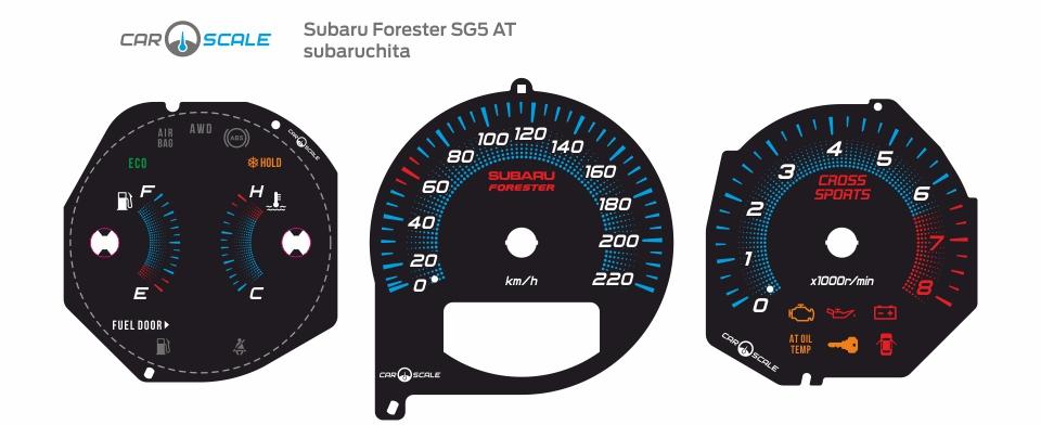 SUBARU FORESTER SG5 AT 14