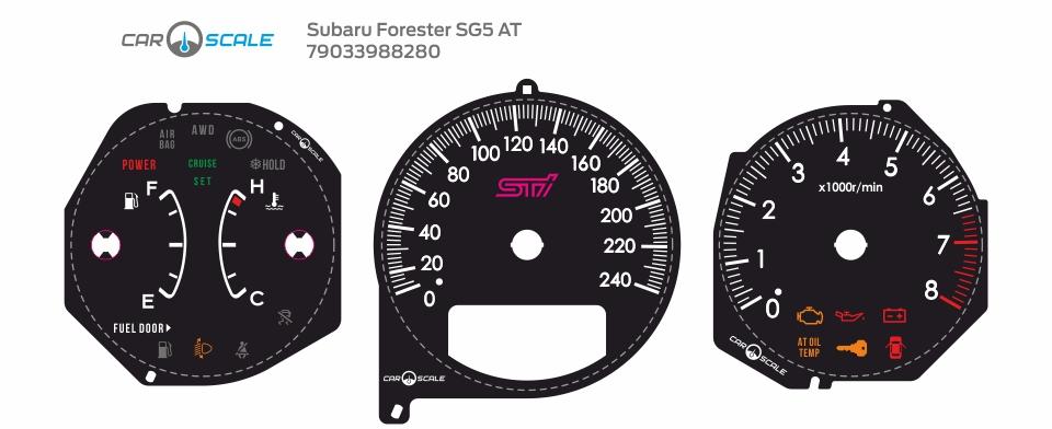 SUBARU FORESTER SG5 AT 18