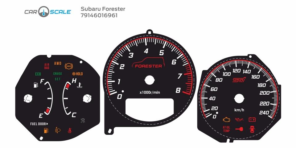 SUBARU FORESTER SG5 AT 19
