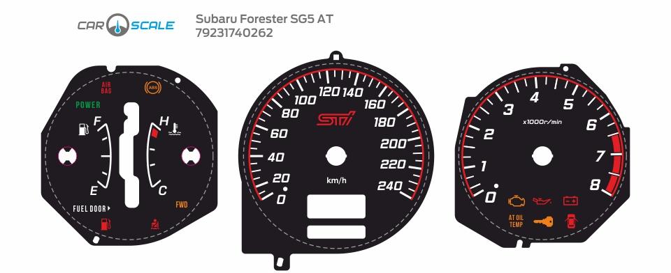 SUBARU FORESTER SG5 AT 20