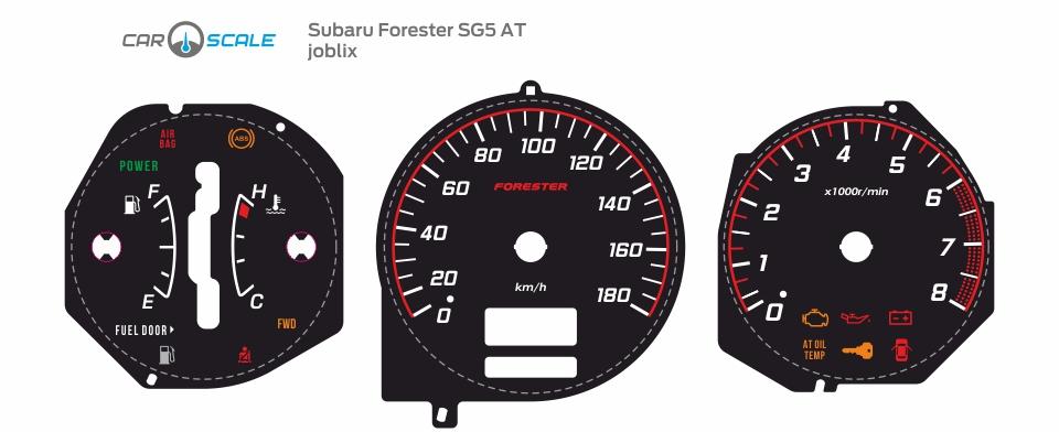 SUBARU FORESTER SG5 AT 21
