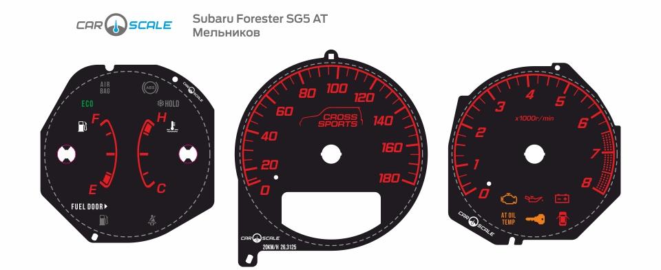SUBARU FORESTER SG5 AT 23