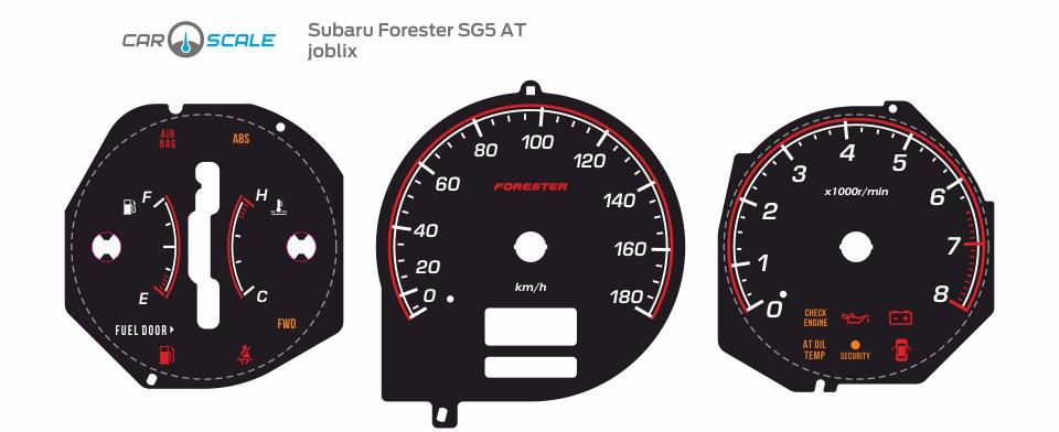 SUBARU FORESTER SG5 AT 24