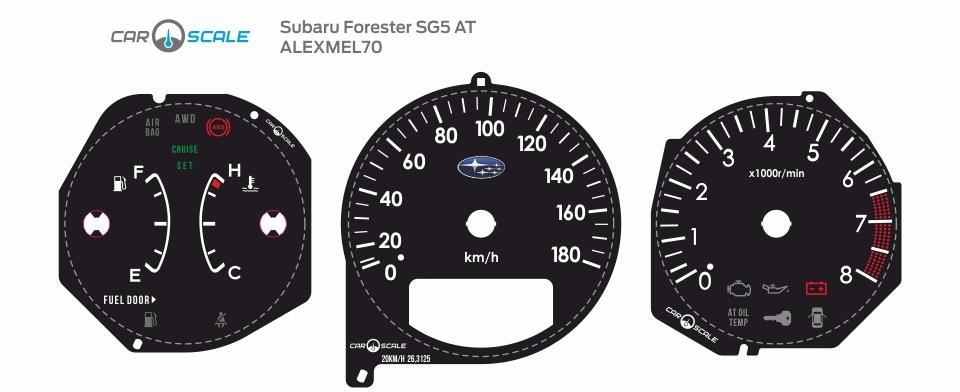 SUBARU FORESTER SG5 AT 25