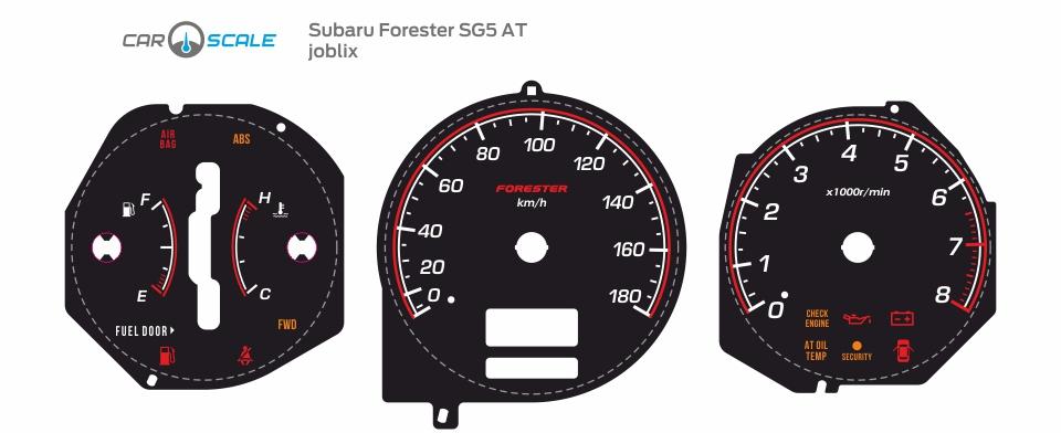 SUBARU FORESTER SG5 AT 26