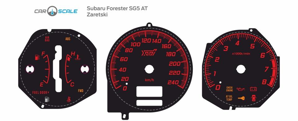 SUBARU FORESTER SG5 AT 27