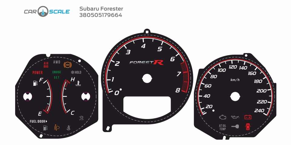SUBARU FORESTER SG5 AT 29