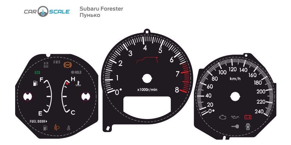 SUBARU FORESTER SG5 AT 31
