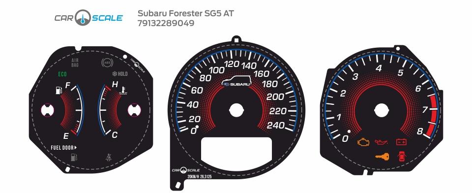 SUBARU FORESTER SG5 AT 32