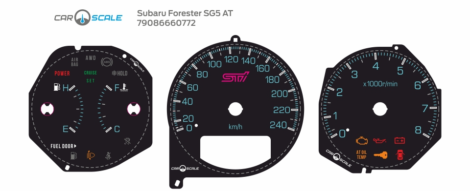 SUBARU FORESTER SG5 AT 34