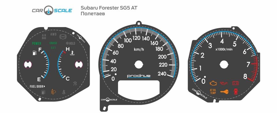 SUBARU FORESTER SG5 AT 35