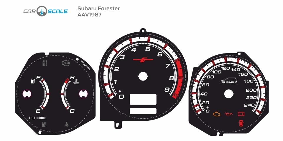 SUBARU FORESTER SG5 AT 37