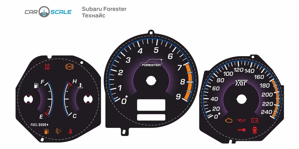 SUBARU FORESTER SG5 AT 38