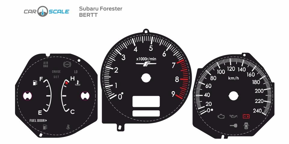 SUBARU FORESTER SG5 MT 03