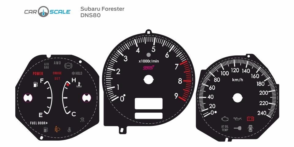 SUBARU FORESTER SG5 MT 04