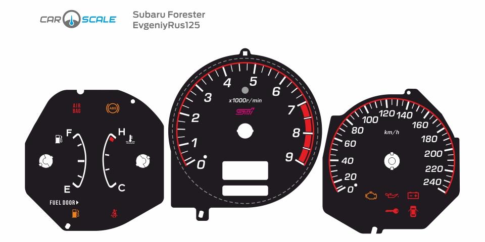 SUBARU FORESTER SG5 MT 05