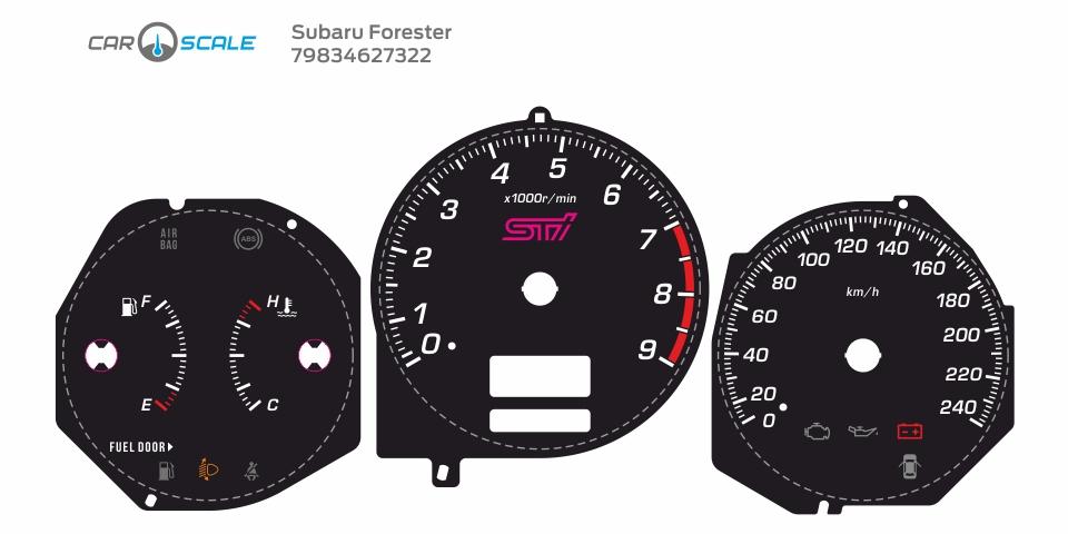 SUBARU FORESTER SG5 MT 06