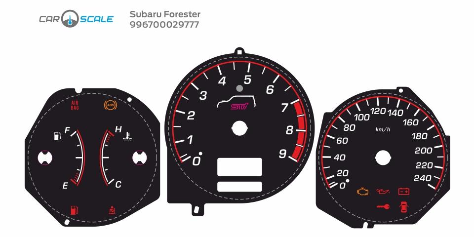 SUBARU FORESTER SG5 MT 11
