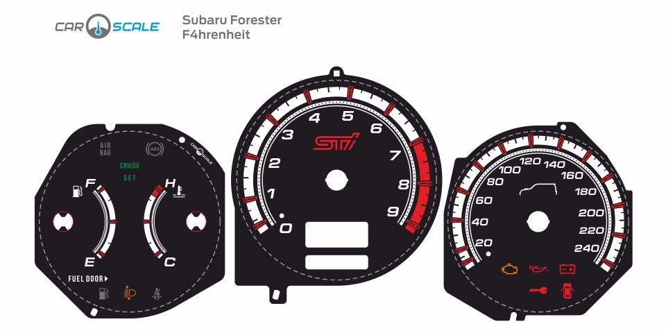 SUBARU FORESTER SG5 MT 13