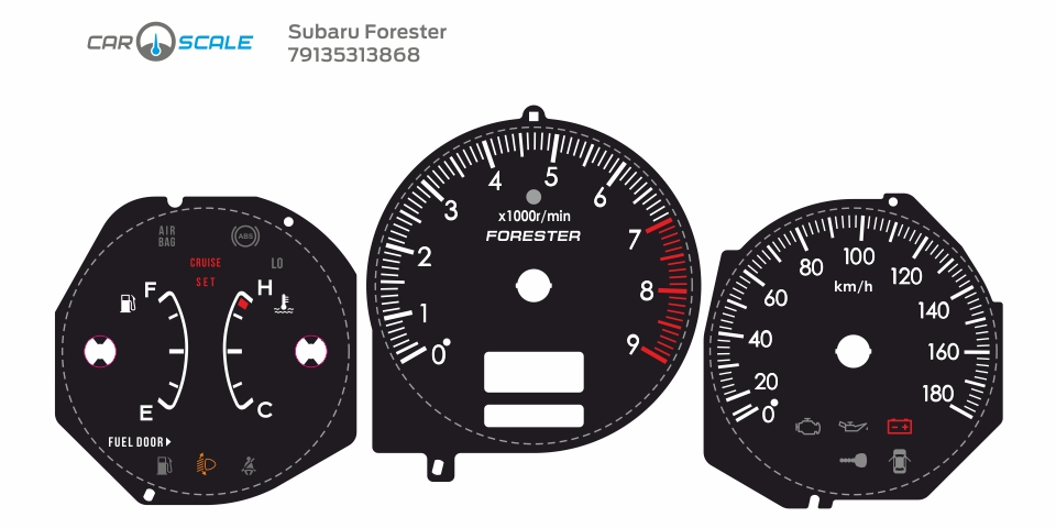 SUBARU FORESTER SG5 MT 14