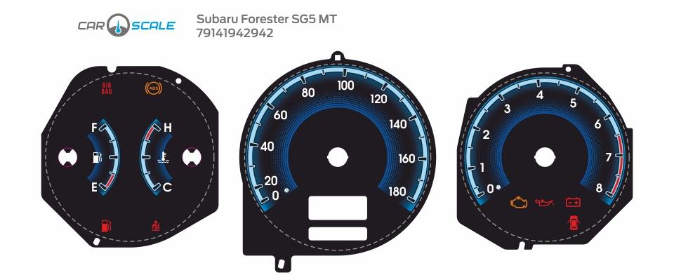 SUBARU FORESTER SG5 MT 18