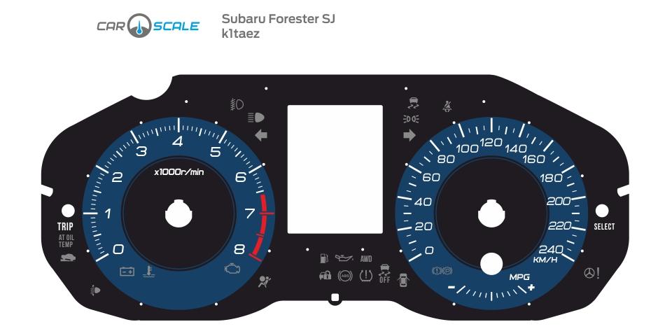 SUBARU FORESTER SJ 01