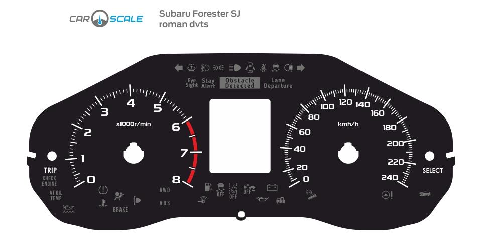 SUBARU FORESTER SJ 03