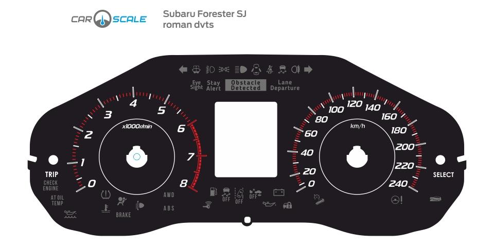 SUBARU FORESTER SJ 04