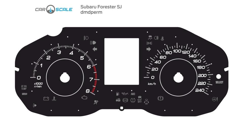 SUBARU FORESTER SJ 05