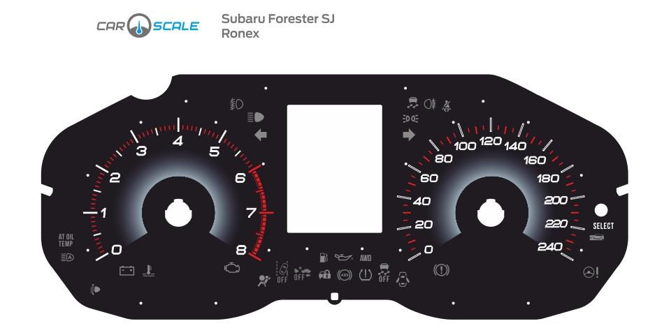 SUBARU FORESTER SJ 07