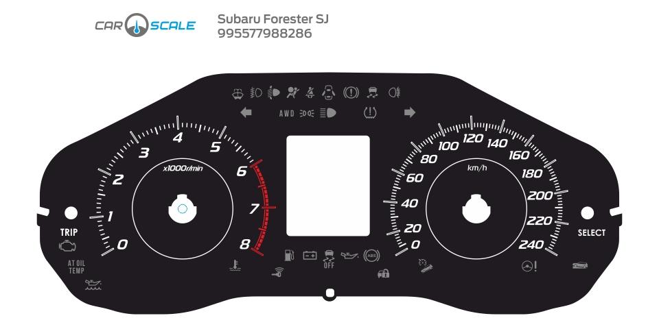 SUBARU FORESTER SJ 09