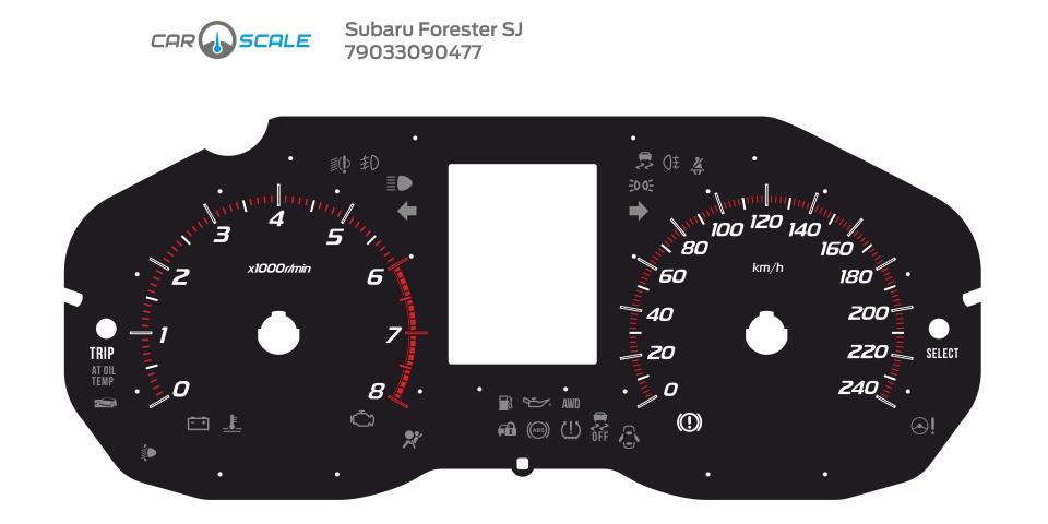 SUBARU FORESTER SJ 10