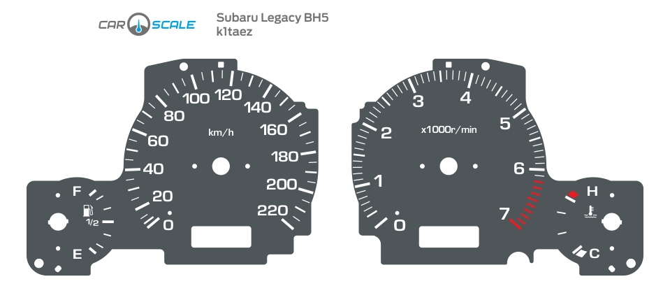 SUBARU LEGACY BH5 01