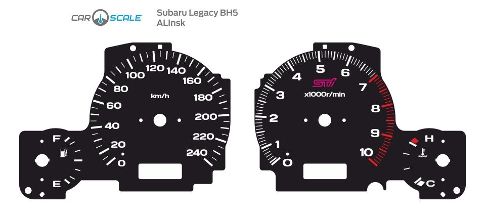 SUBARU LEGACY BH5 04